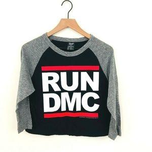 Bravado Run DMC Crop Top